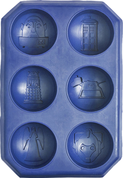 Doctor Who Tardis Silicone Cup Cake Muffin Pan Gregs Collectables