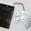 Game of Thrones – 4″ Sigils Christmas Ornament – Stark