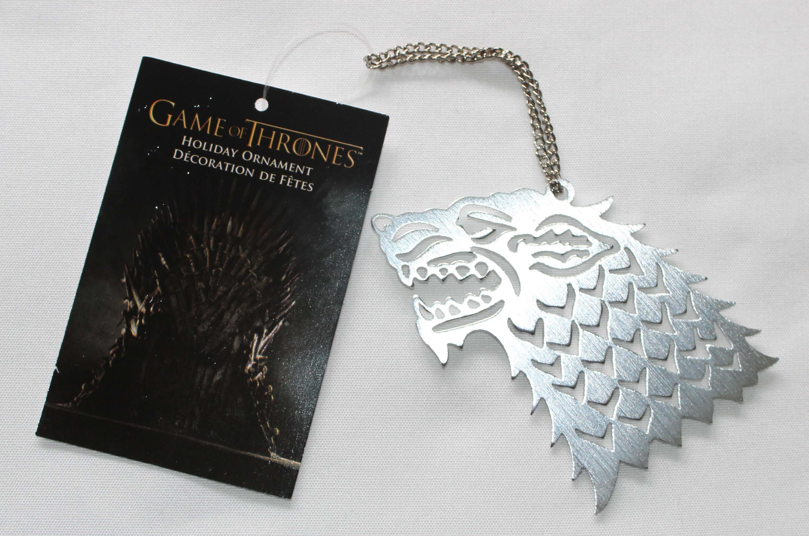 Game Of Thrones 4 Sigils Christmas Ornament Stark