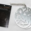 Game of Thrones – 4″ Sigils Christmas Ornament – Targaryen