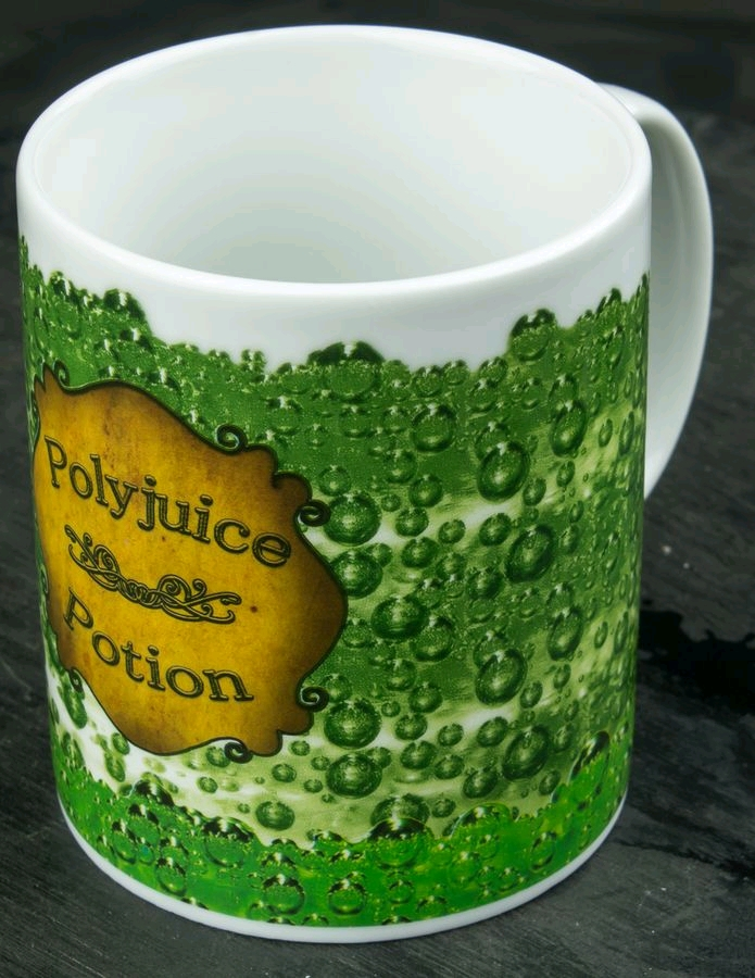 Harry Potter Polyjuice Potion Heat Changing Coffee Mug