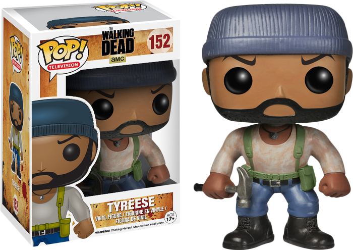 The Walking Dead Tyreese Pop Vinyl Gregs Collectables
