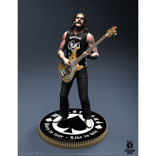 Motorhead Lemmy Rock Iconz Statue Gregs Collectables